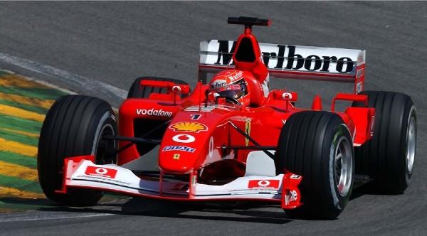 2002 : Formule 1 Ferrari, champion du monde avec 144 points
